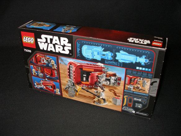 Rey's Speeder from Lego Back