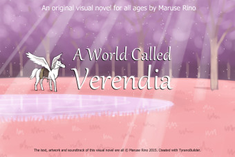 Verendia Title Screen