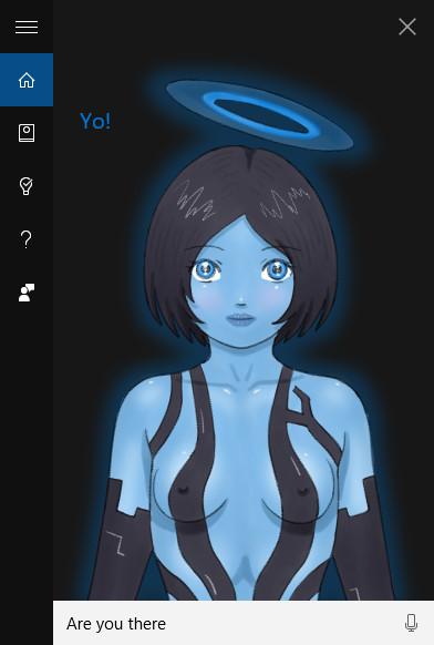 Cortana Is an Angel
