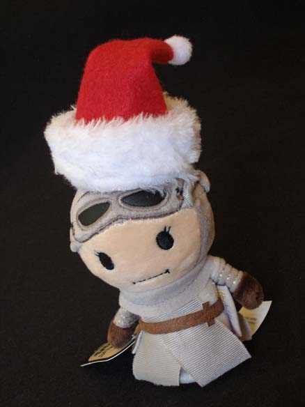 Itty Bittys Rey with Santa Hat