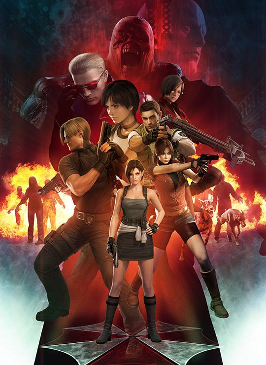 Resident Evil Anniversary Poster