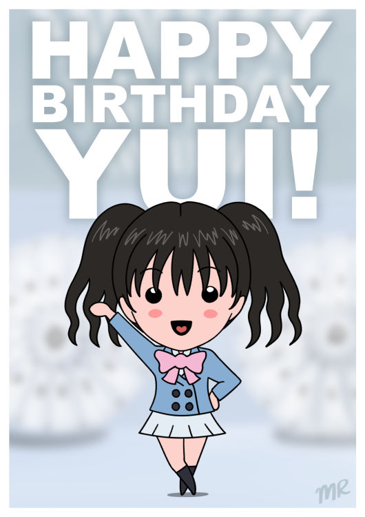 Happy Birthday Yui 2016