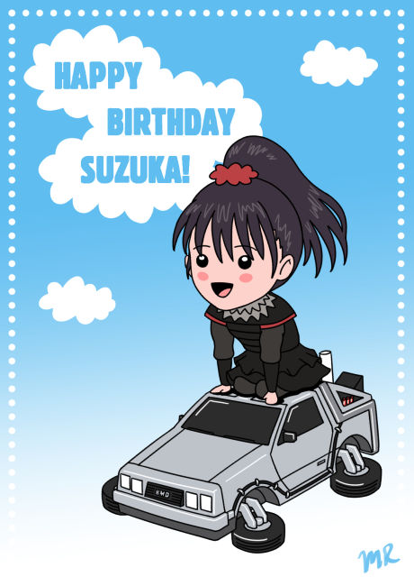 Happy Birthday Suzuka